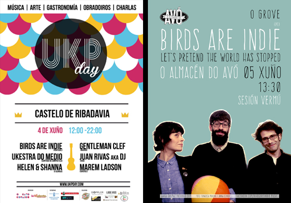 Birds are Indie en España presentarán I'm Leaving This Town