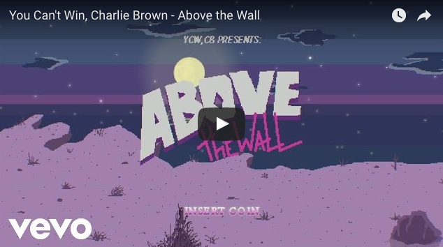 Above the wall You can't win, Charlie Brown