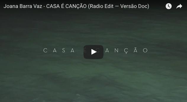 Casa é canção Joana Barra Vaz