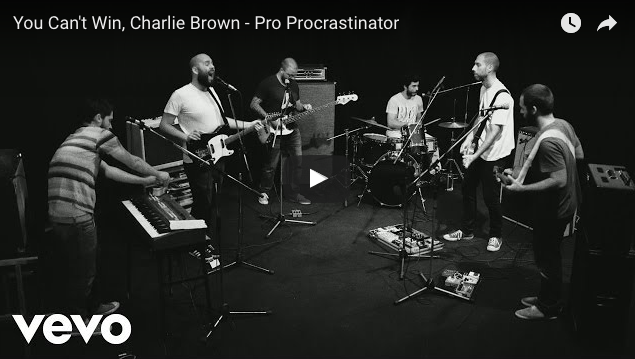 Pro Procastinator de You cant't win, Charlie Brown