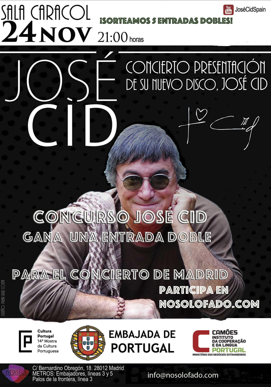 Concurso José Cid en nosolofado.com