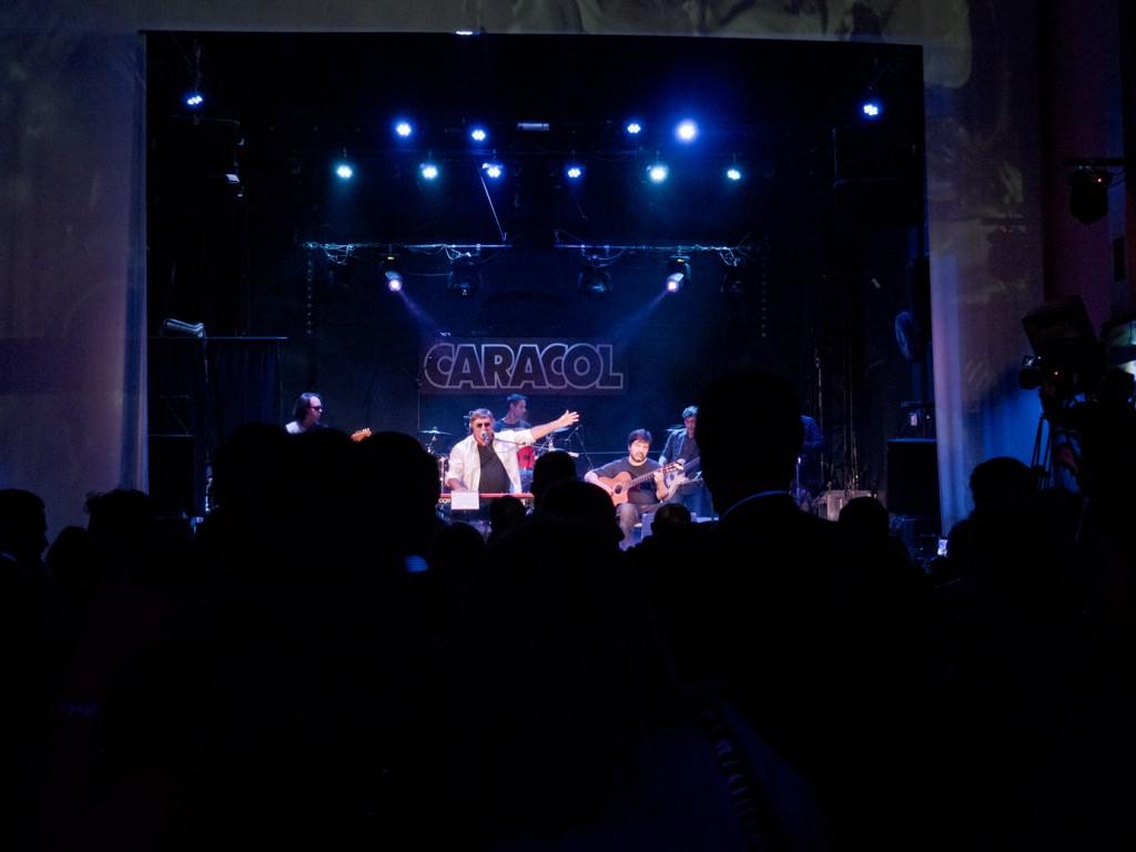 Foto de José Cid en directo en Madrid