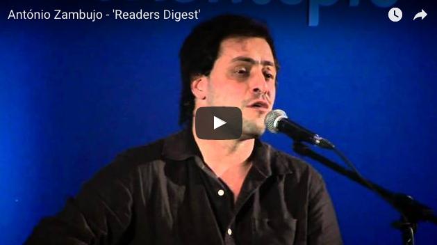 Readers Digest de António Zambujo