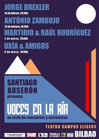 Concierto de António Zambujo en Bilbao