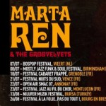 Concierto de Marta Ren & The Groovelvets en Madrid