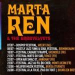 Concierto-deMarta-Ren-The-Groovelvets en Zaragoza