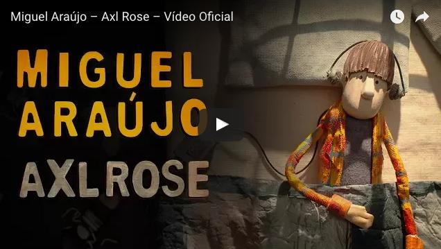 Axl Rose, nuevo tema y vídeo de Miguel Araújo
