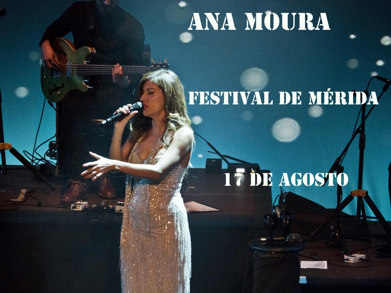 Ana Moura en el Festival de Mérida