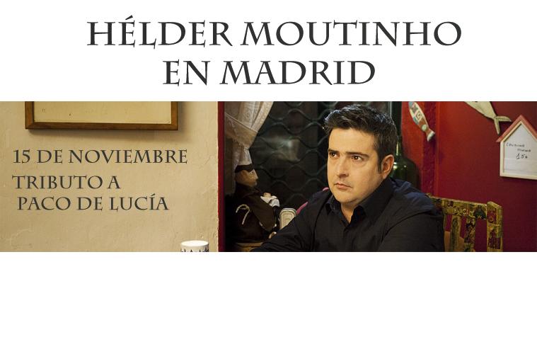 Hélder Moutinho en Madrid