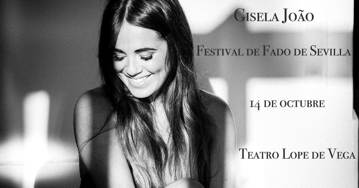Gisela João en el Festival de Fado de Sevilla