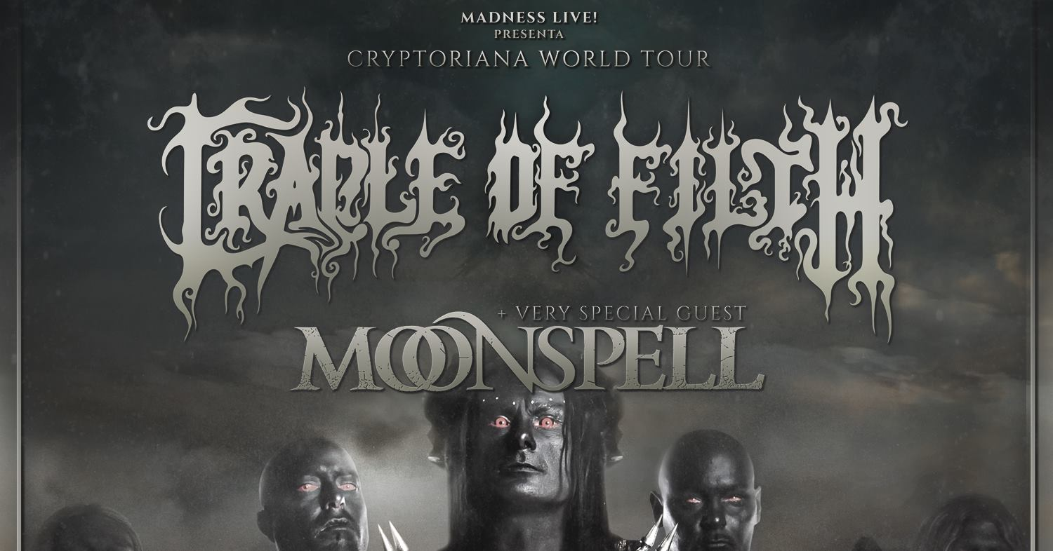 Moonspell en Madrid Moonspell en Barcelona