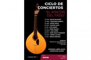 Ciclo de conciertos Rincón del Fado