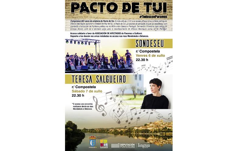 Teresa Salgueiro en Tuy