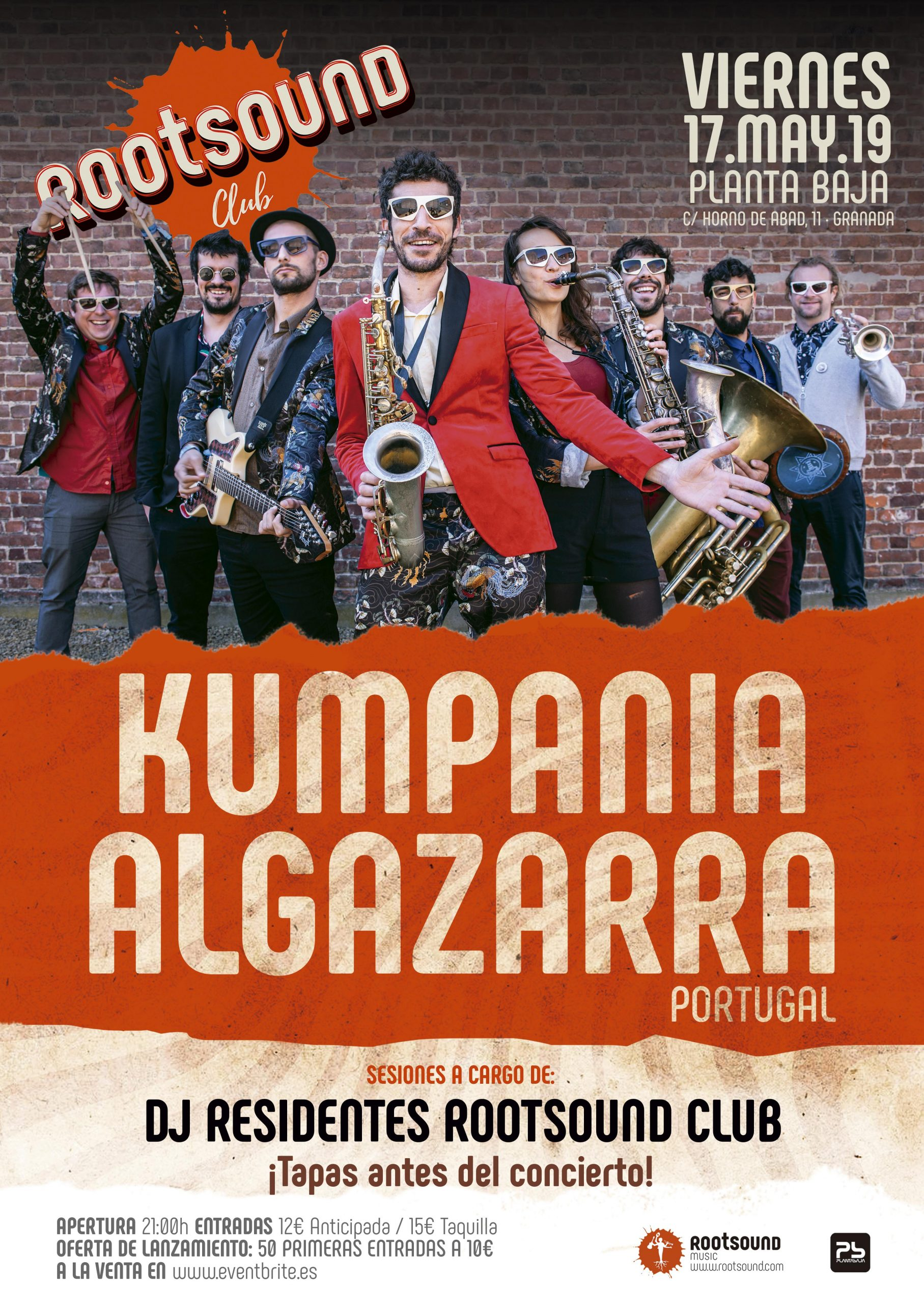 Kumpania Algazarra en Granada