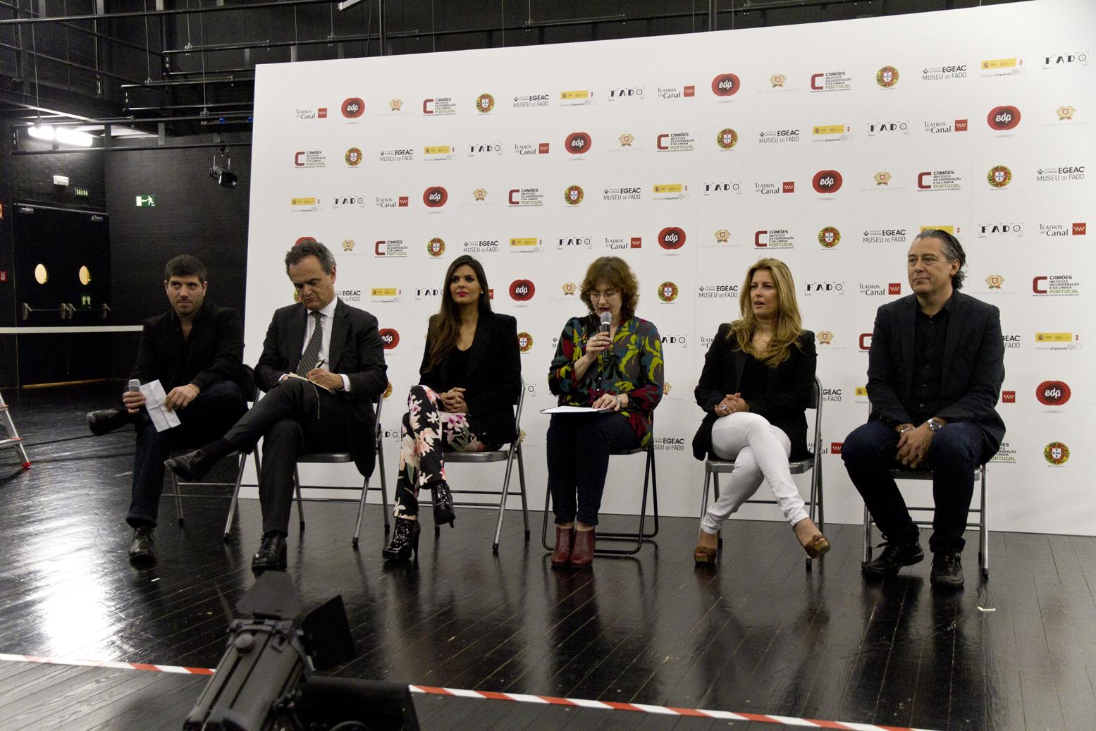 Festival de fado de Madrid 2016, rueda de prensa
