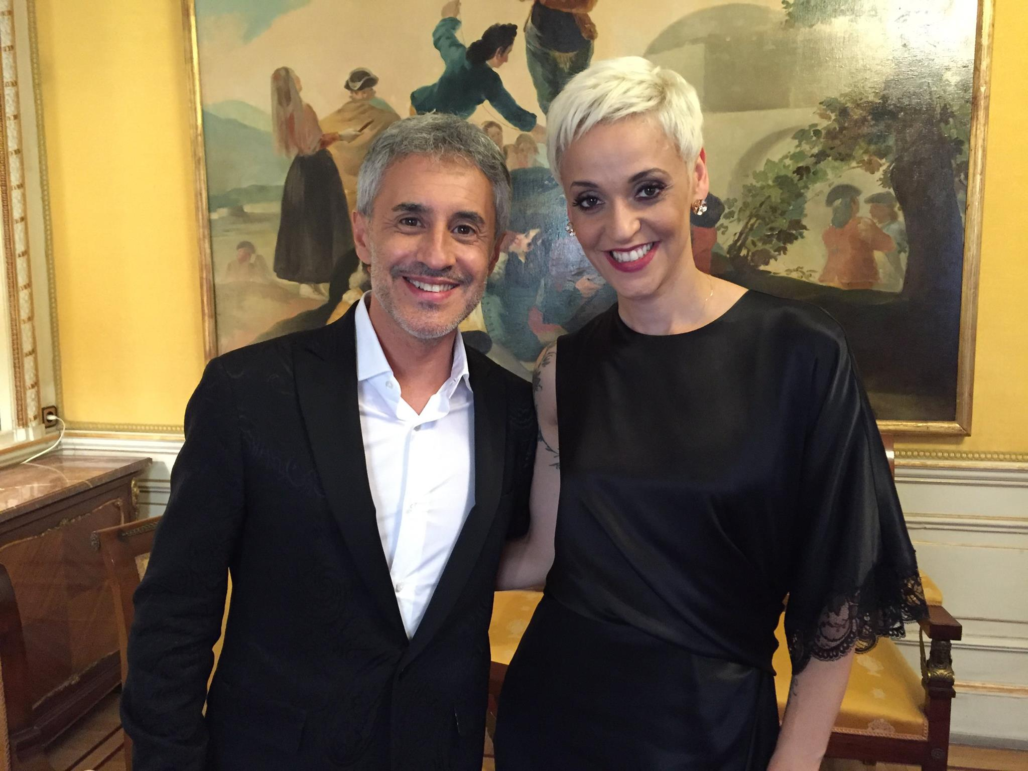 Mariza y Sergio Dalma