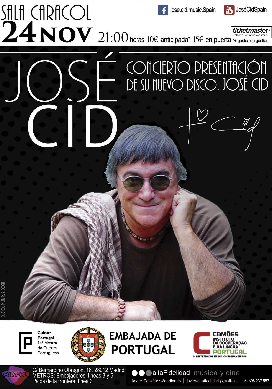Concierto de José Cid en Madrid