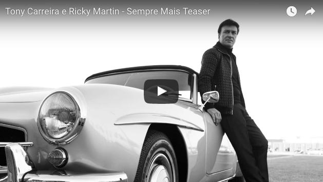 Ricky Martin colabora con Tony Carreira
