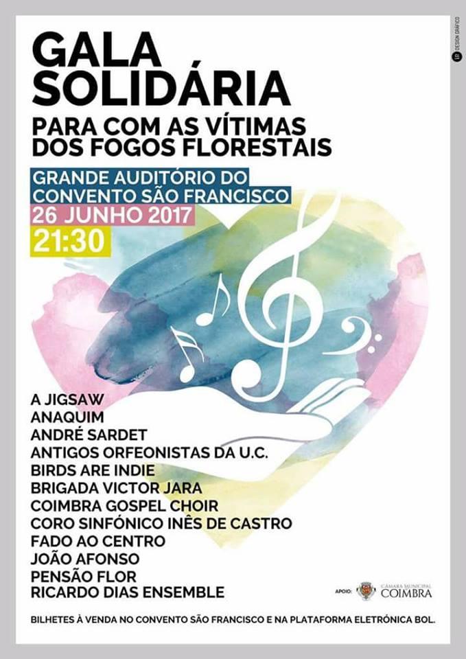 Músicos Portugueses concierto solidario