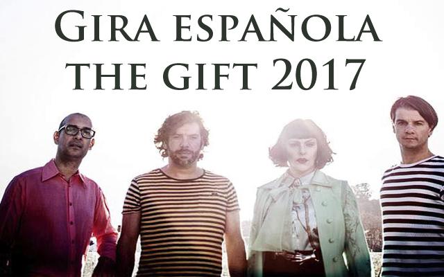 Gira española de The Gift Festival gigante