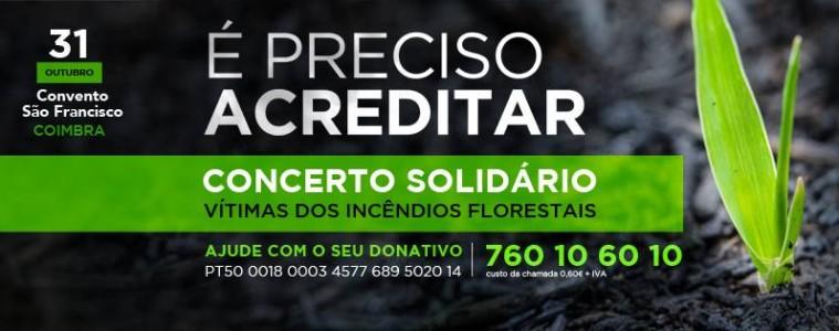 Concierto solidario en Coimbra