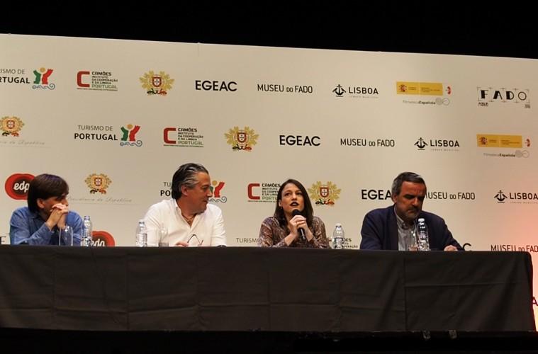 Carminho en la presentación del Festival de Fado de Madrid