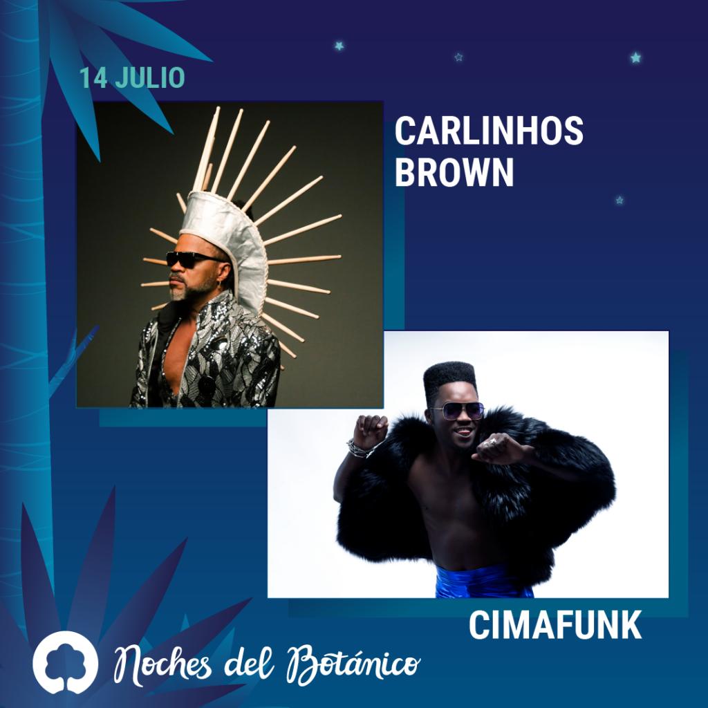 Carlinhos Brown Noches del Botánico 2020