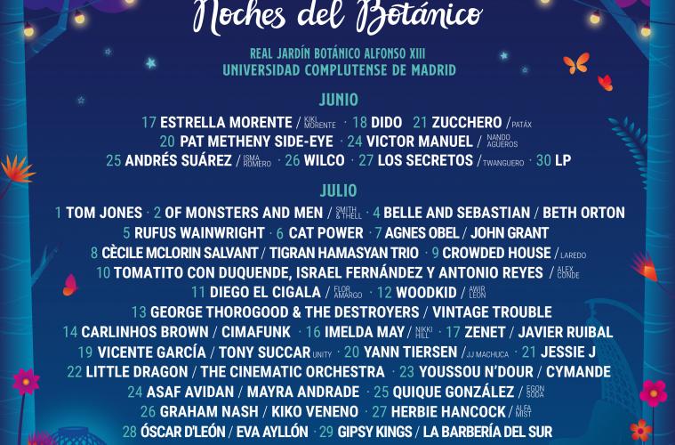 Noches del Botánico 2020