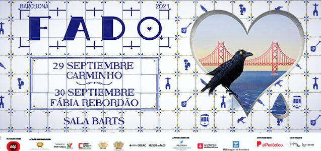 Los días 29 y 30 de septiembre se celebrará una Festival de Fado de Barcelona 2021