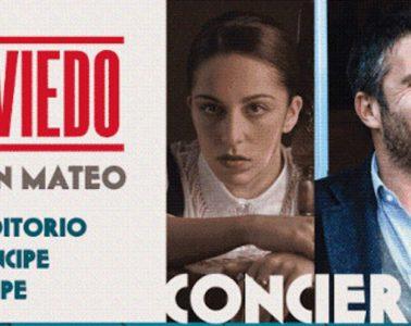 Sara Correia y Pedro Moutinho en Oviedo